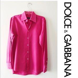 Dolce & Gabbana Men's signature dress shirt